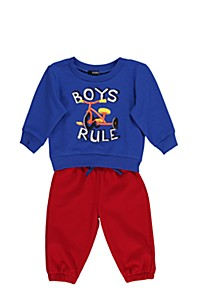 BOYS RULE TRACK SET