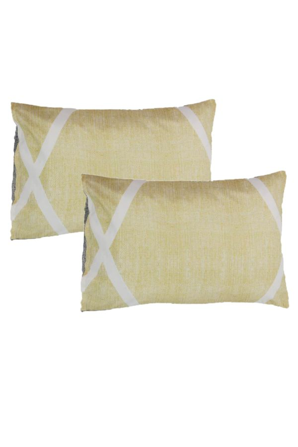 2 PACK POLYCOTTON STANDARD PILLOWCASES