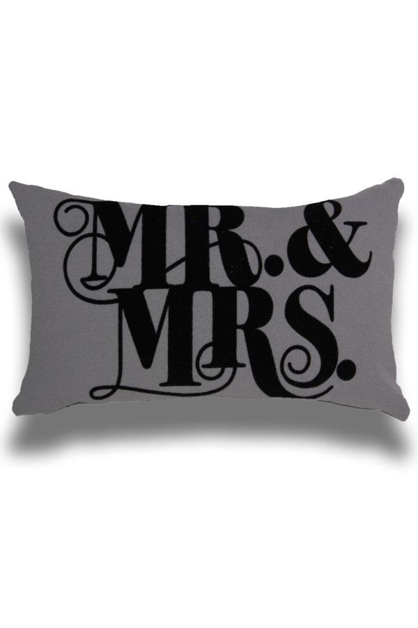 MR AND MRS BEDROOM SCATTER 30X50CM