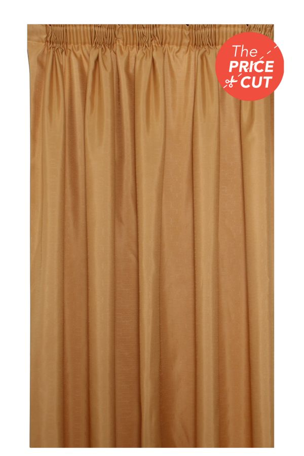 ELLA TAPED LINED CURTAIN