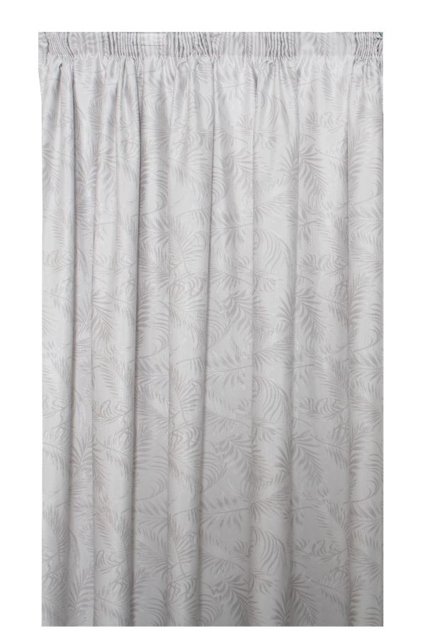 JACQUARD TAPED LINED CURTAIN