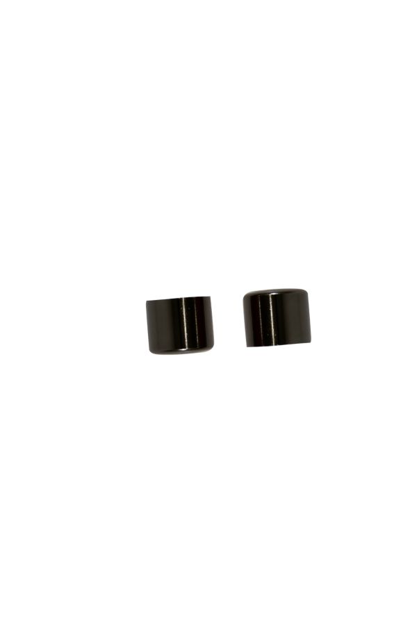 2 PACK ROD END CAPS, 25MM