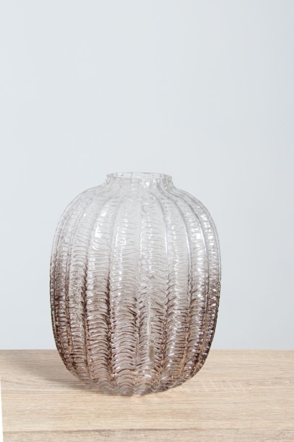 SMALL WATERMELON GLASS VASE