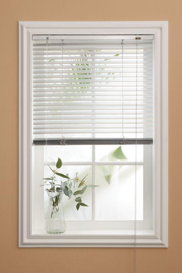PVC WOODGRAIN VENETIAN BLIND 160X120CM