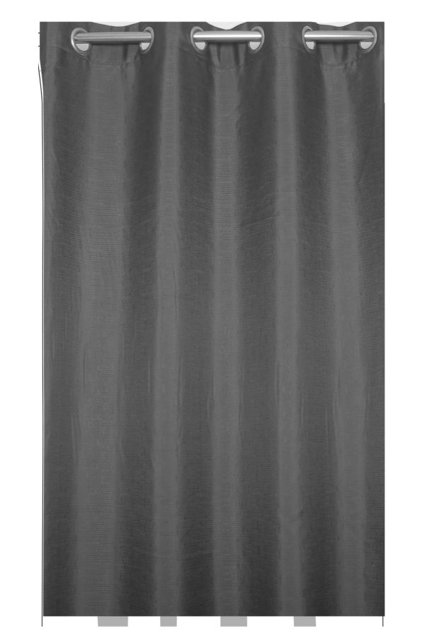 EXTRA WIDTH EYELET LINED CURTAIN 225x225
