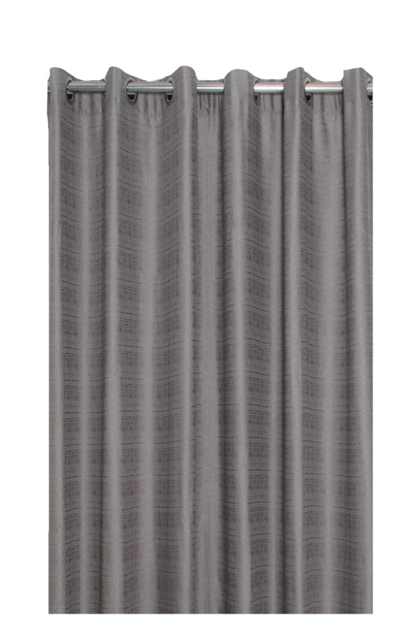 WOVEN EYELET LINED CURTAIN