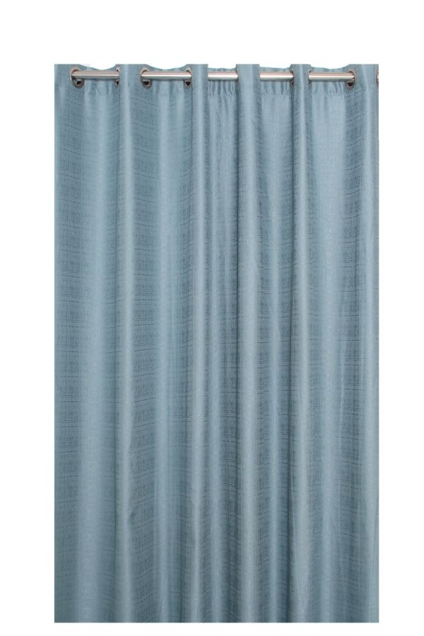 WOVEN LINED EYELET CURTAIN