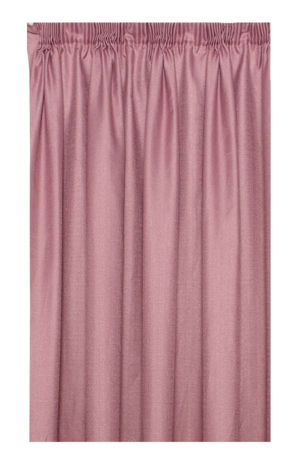 EXTRA LENGTH TAPED LINED CURTAIN 250x230