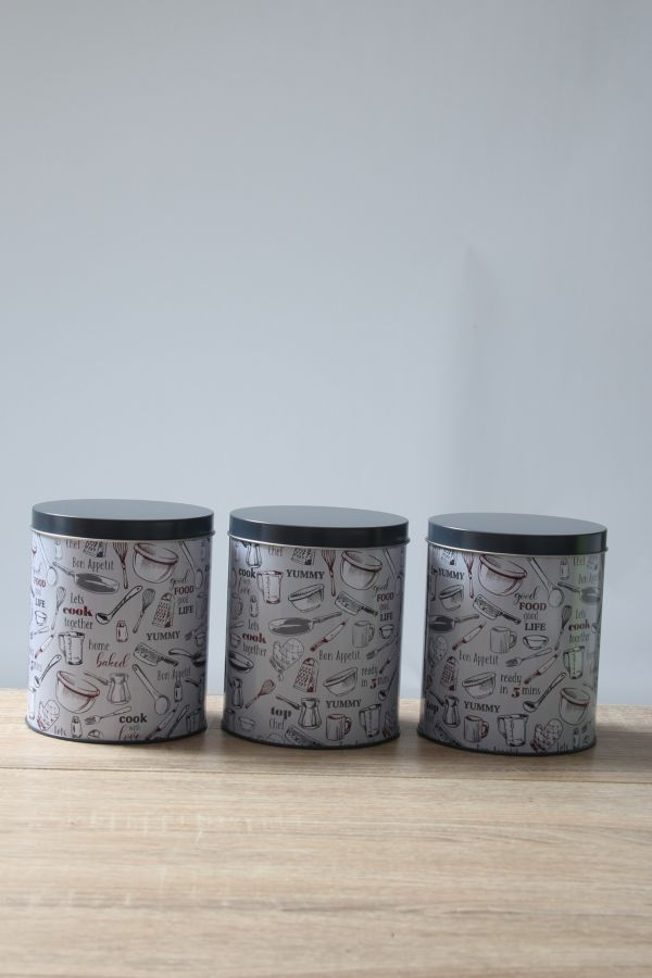 3 PACK STORAGE CANISTER S