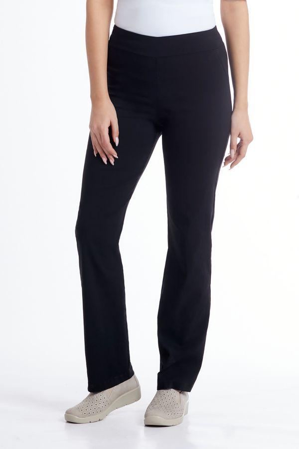 STRAIGHT LEG BENGALINE PANTS