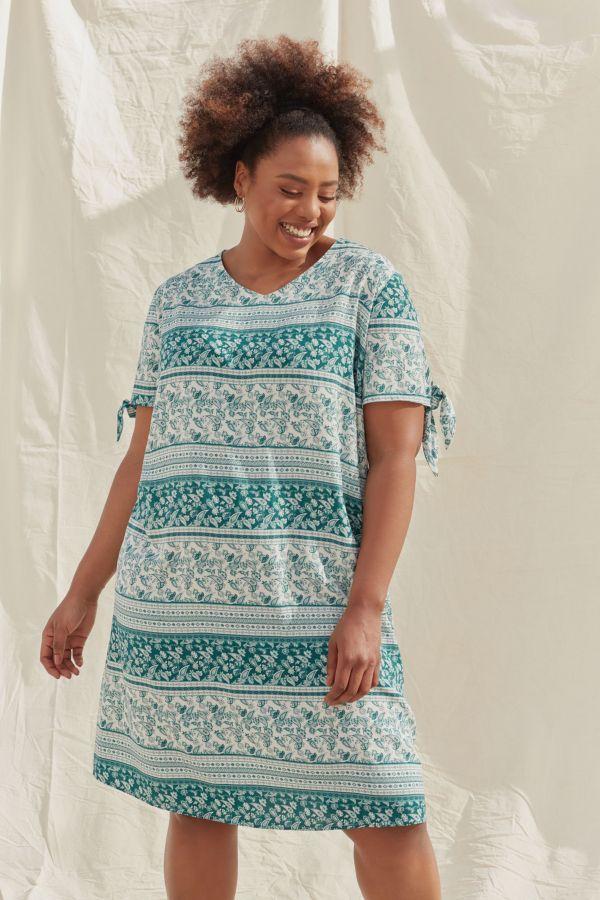 PAISLEY A-LINE DRESS