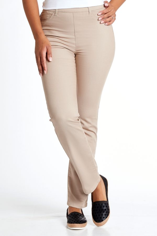JEGGINGS - Taupe
