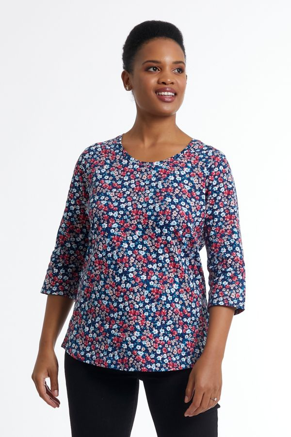 DITSY FLORAL RELAXED T-SHIRT
