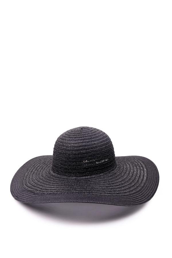 TEXTURED FLOPPY HAT