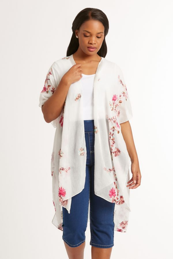 EMBROIDERED WRAP
