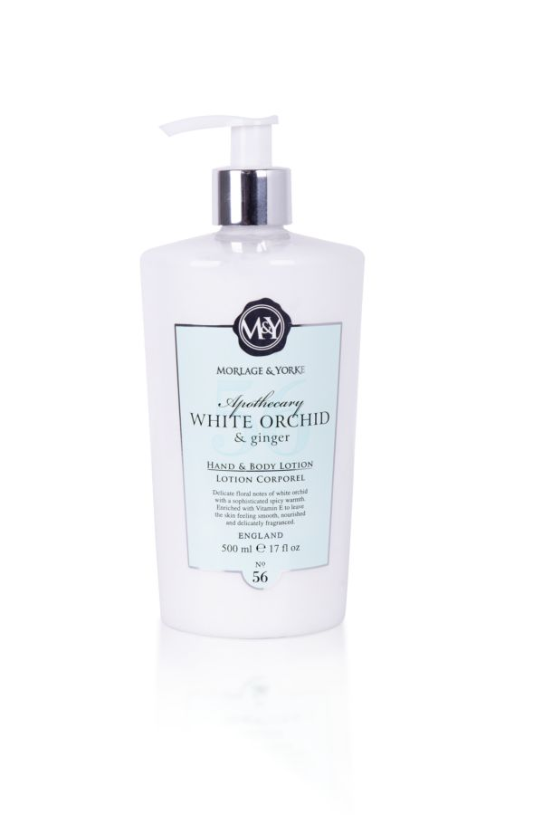 HAND AND BODY LOTION - White Orchid and Ginger