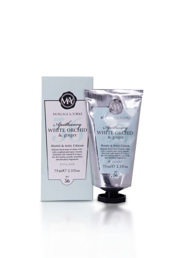 HAND & NAIL CREAM - White Orchid and Ginger