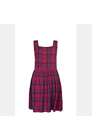 TARTAN PRINTED DRESS