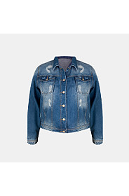 ABRAISED DENIM JACKET