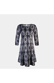 EMPIRE KNITWEAR DRESS