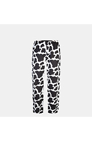 COW PATCH WOVEN PANTS