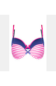 2 PACK STRIPED T-SHIRT BRA