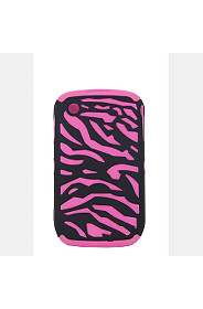 ZEBRA EMBOSSED PHONE COVER
