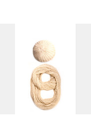 BERET AND SNOOD SET