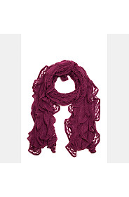FRILLY SCARF