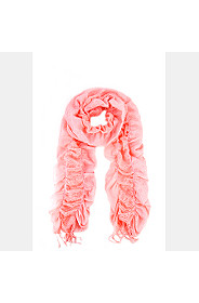 FRILLY LUREX SCARF