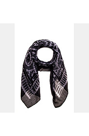 PIN PRINTED SCARF