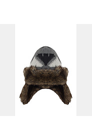 FUR LINED TRAPPER HAT