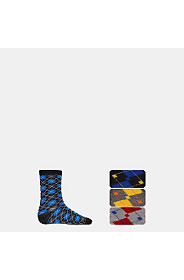 3 PACK ARGYLE SOCKS