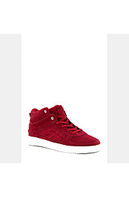 MOCK SUEDE HI TOP