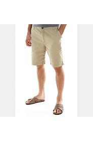 STRAIGHT LEG COTTON SHORTS