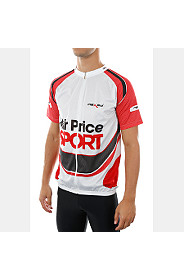 PRINTED CYCLING TOP