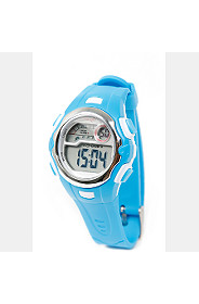 DIGITAL WATCH WITH RUBBER STRAPS