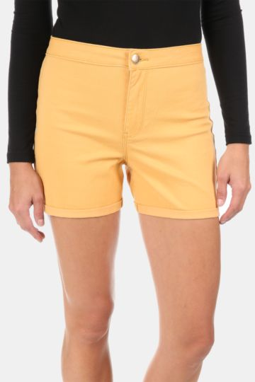 Tube Denim Shorts