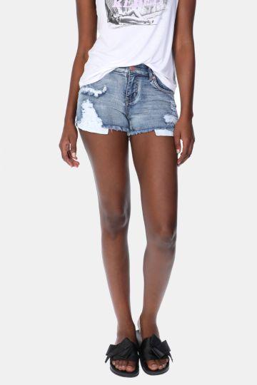 Denim Cheeky Shorts