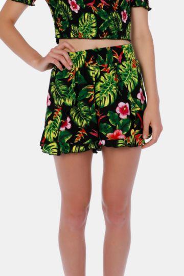 Tropical Cheeky Shorts