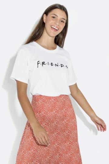 Friends Slogan T-shirt