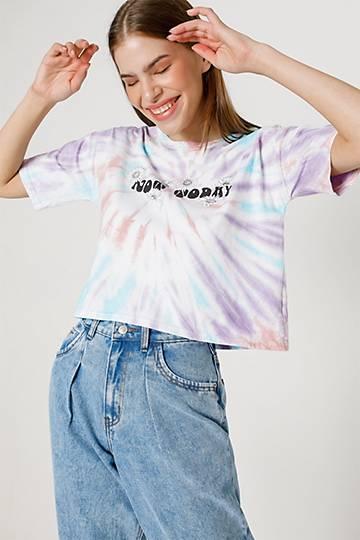Tie Dye Statement Boxy T-shirt