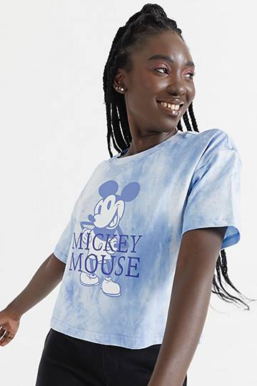 Mickey Tie Dye Graphic T-shirt