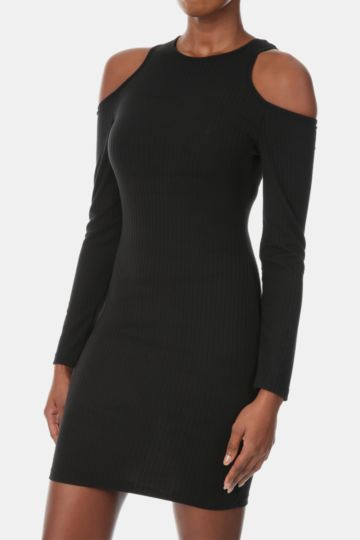 Bare Shoulder Bodycon Dress
