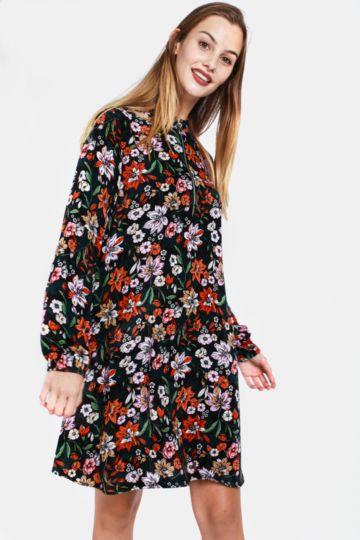 8b3413ed681e Floral Shirt Dress