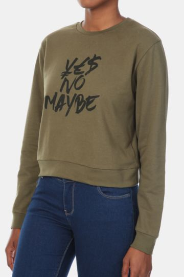 Statement Sweat Top