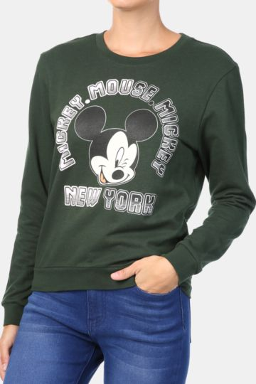 Mickey Mouse Sweat Top