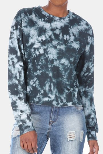 Abstract Sweat Top