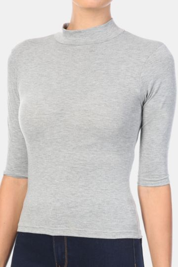 Turtle Neck Top- Click For More Colours