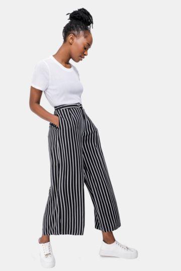 Stripe Culotte